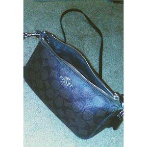 Authentic Coach cross body purse